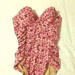 J. Crew Women's sweetheart swimsuit size 4